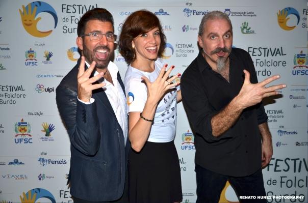 John Maucere (USA), Fernanda de Araujo Machado (Brazil), Giuseppe Giuranna (Germany)