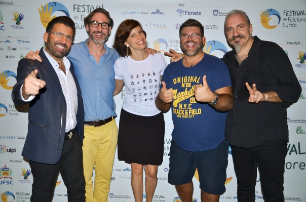 John Maucere (USA) ,David Oliver Philippe (France), Fernanda de Araujo Machado (Brazil), Richard Carter (UK), Giuseppe Giuranna (Germany)